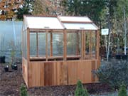 Greenhouse Gazeebo and Spa Enclosure Cedar