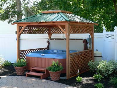 Hawaii 8' x 8' Hot Tub Enclosure